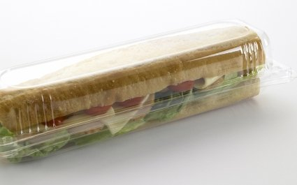 Baguette in specially designed hinged container - Plus Pack