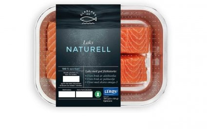 Glad Laks pack of fresh salmon - Plus Pack