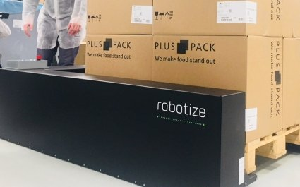 innovative, palette transport, robotize, robots, Plus Pack